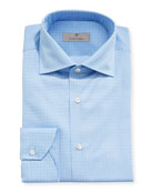 Canali Impeccabile Tonal Tattersall Dress Shirt