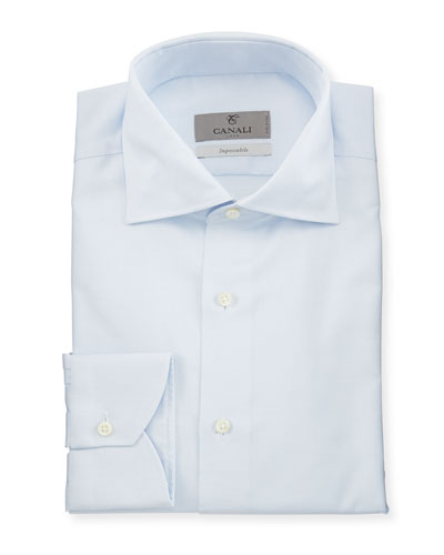 Impeccabile Micro-Neat Dress Shirt