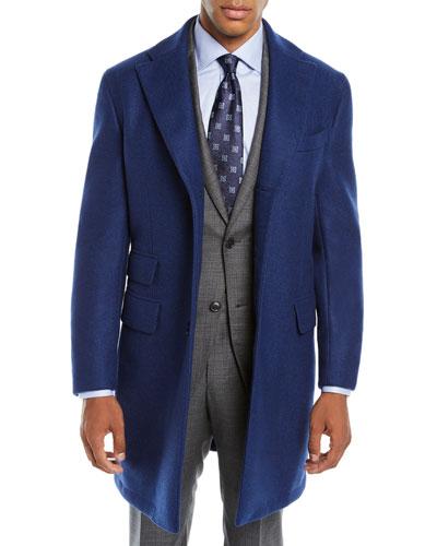 ea6f1d0876c2ff Blue Car Coat | Neiman Marcus