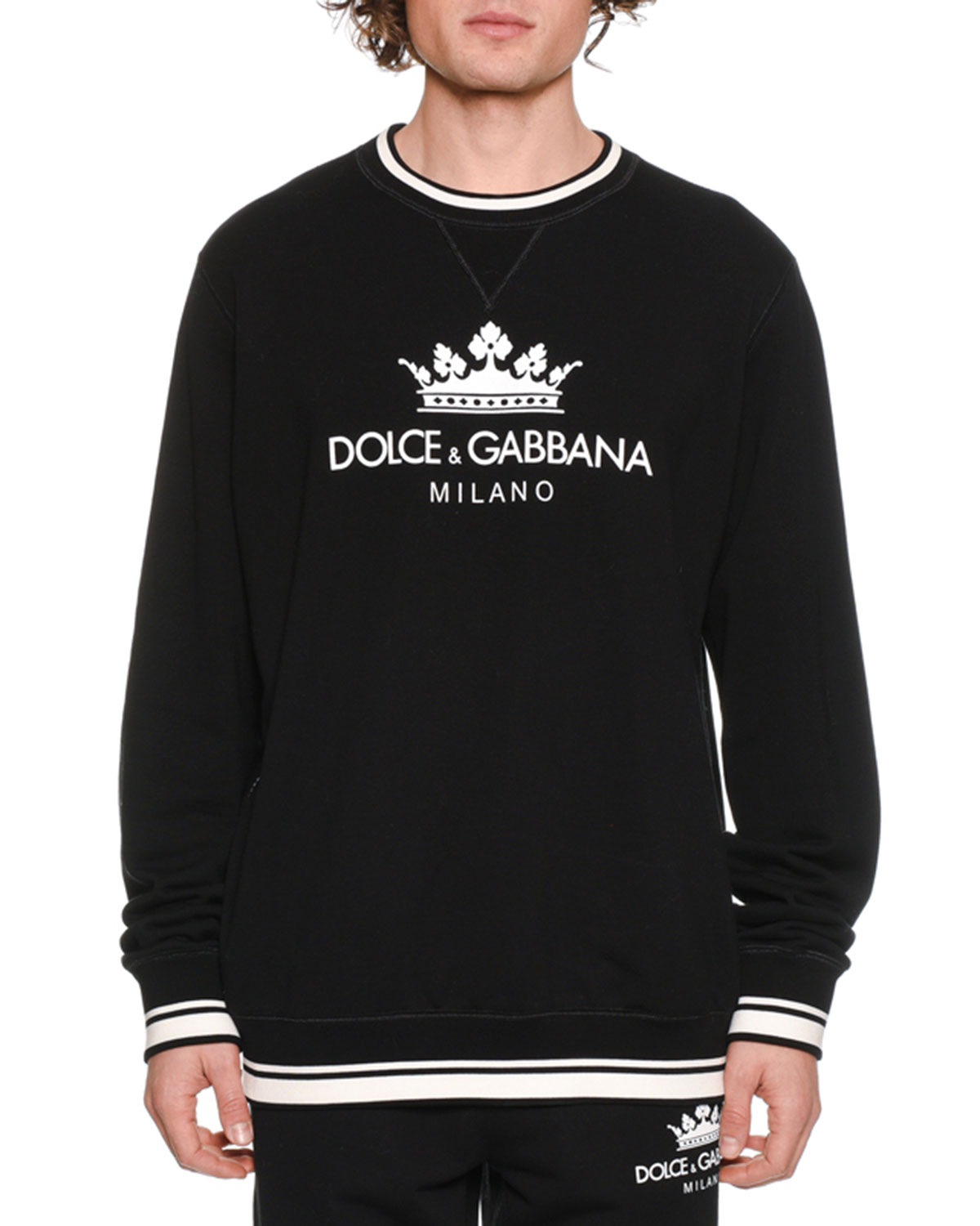 Men's Crown Logo Graphic Sweatshirt