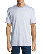 Ermenegildo Zegna Men's Striped Linen T-Shirt