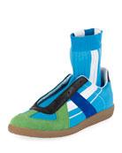 Maison Margiela Men's Replica Sock High-Top Sneakers