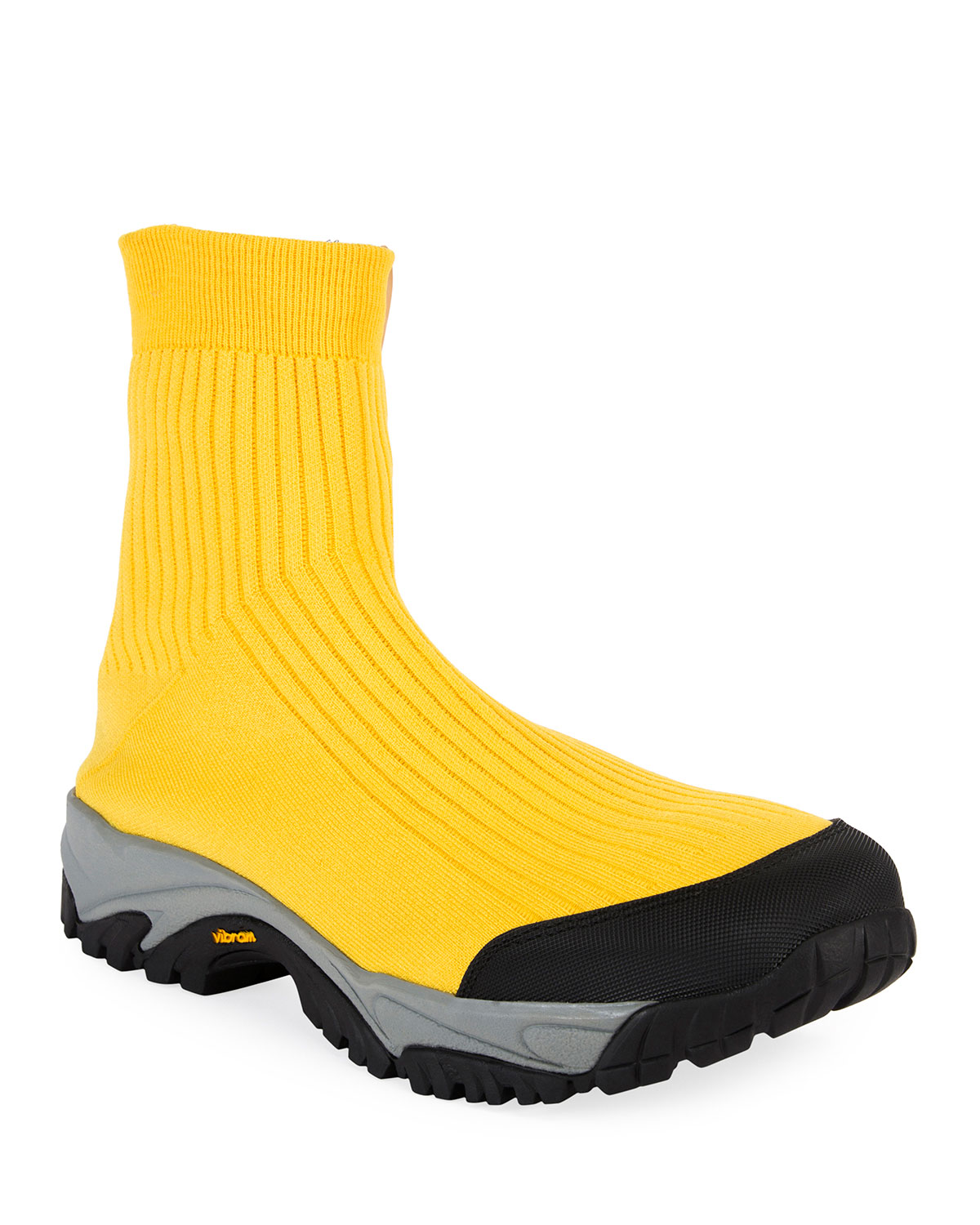 Men's Security High-Top Sock Running Sneakers