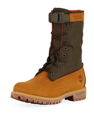 Men's Premium Gaiter Boot with Canvas Trim