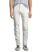 G-Star Men's 5620 Knee-Zip Super-Slim Jeans