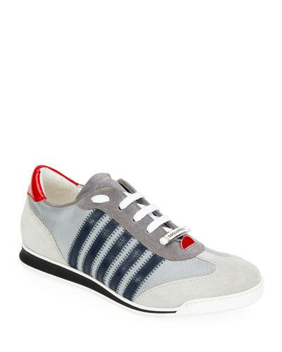 Men's Colorblock Nylon Sneakers