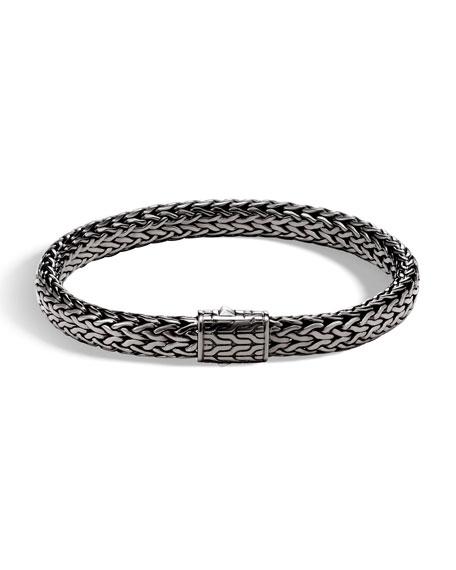 John Hardy Men's Rhodium-Plated Classic Chain Bracelet