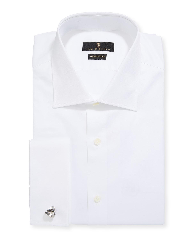 Men's Marcus Twill French-Cuff Dress Shirt