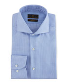 Ike Behar Men's Jeffrey Micro-Pattern Dress Shirt