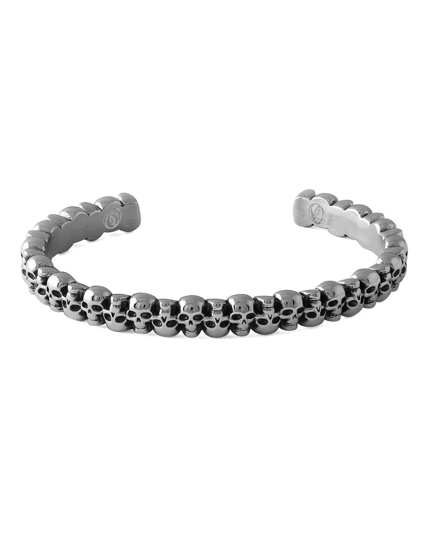Men's Skull Cuff Bracelet