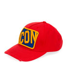 Dsquared2 Men's Icon Patched Baseball Cap