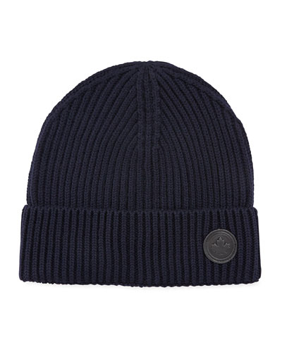 c89280ead6c Quick Look. Dsquared2 · Men s Wool Knit Beanie Hat