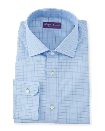 Men's Aston Windowpane Dress Shirt