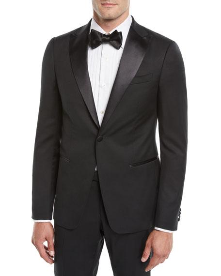 Z Zegna Men's Satin-Lapel Tuxedo Suit