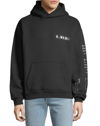 Men's Credit Card Decal Pullover Hoodie