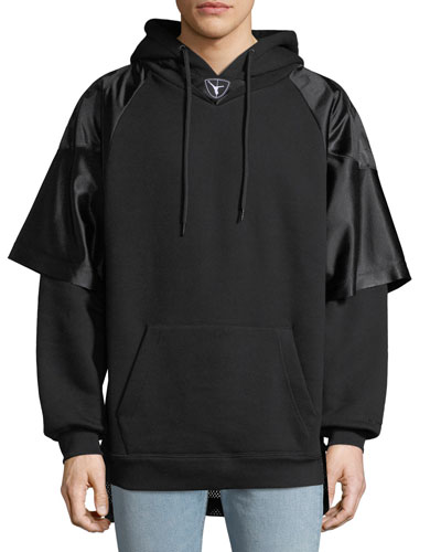 Men's Hybrid Football Jersey Sweatshirt Hoodie