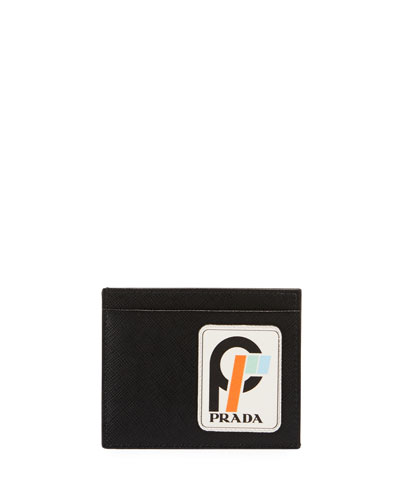 ... inexpensive quick look. prada mens saffiano leather card case 12491  1723f 6bcf218a60eaf