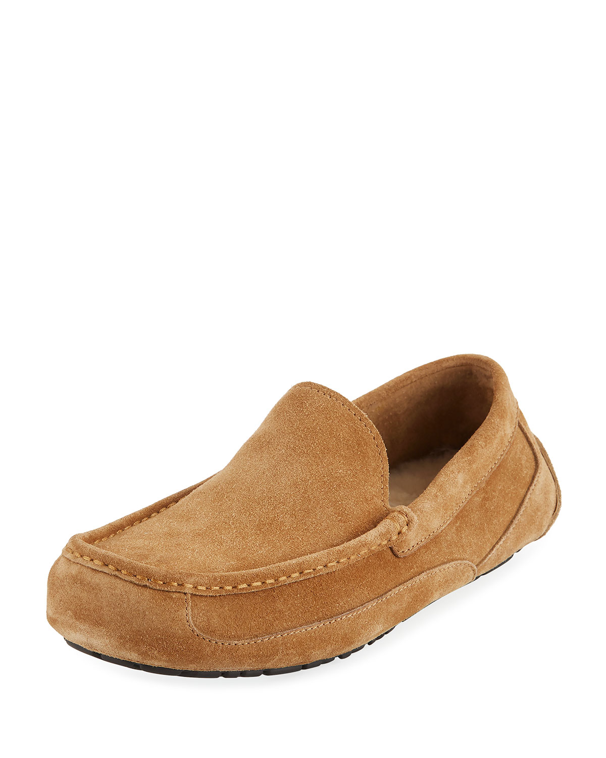 Men's Ascot Pinnacle Stead Suede Slippers