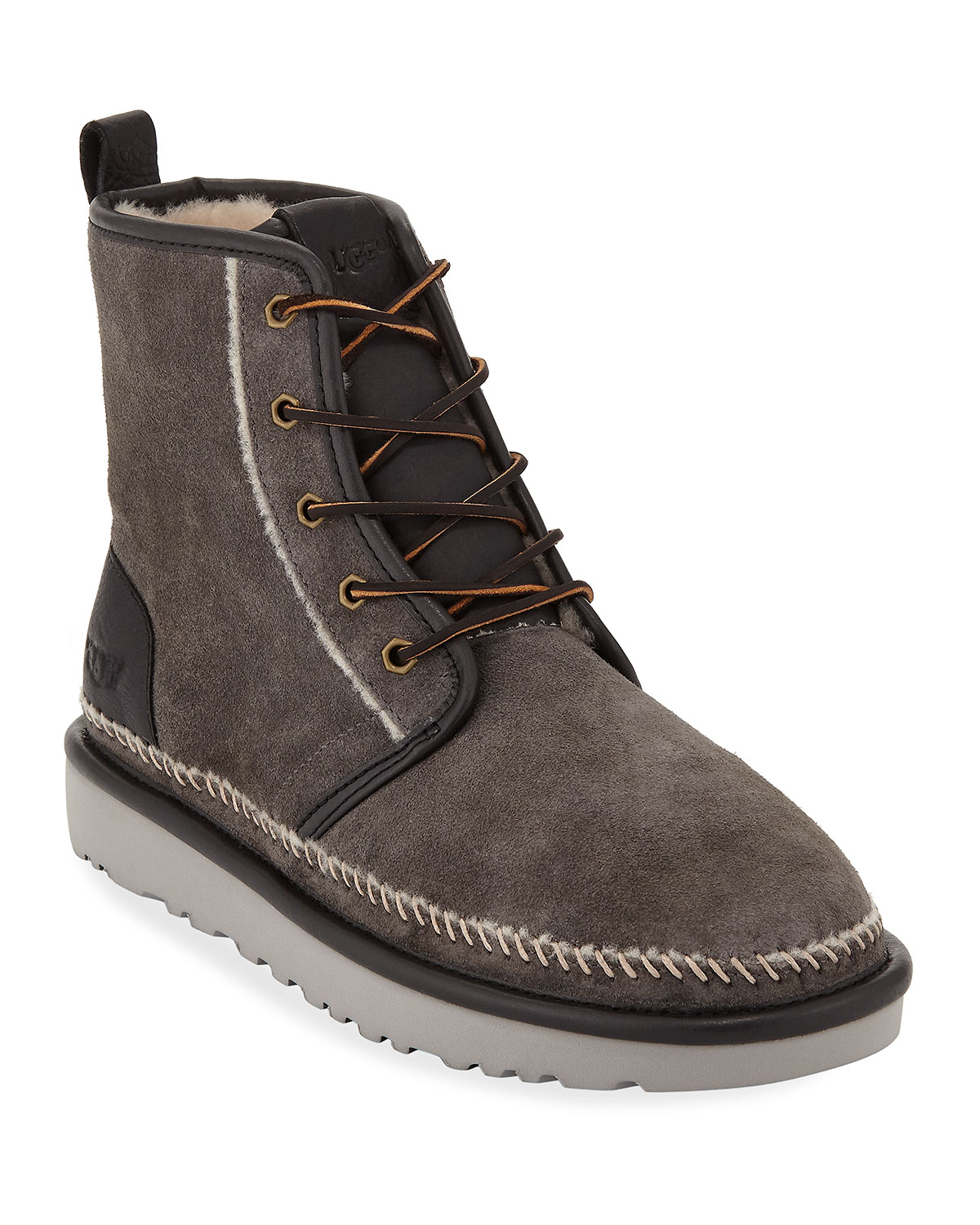 Men's Harkley Stitch Suede Boots