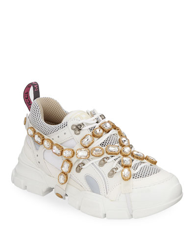 Men's Sneakers with Removable Crystals
