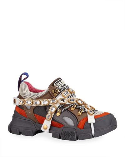 best website e349c 6bc24 Gucci Lace Up Sneaker Shoes | Neiman Marcus