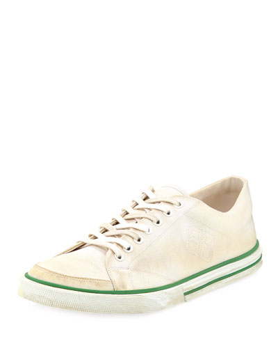 Men's Match Low-Top Canvas Sneakers