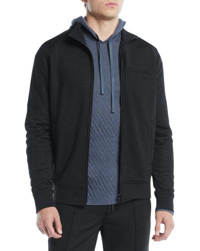 Men's Heat Seal Zip-Front Track Jacket