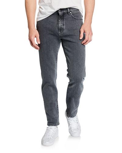 Men's Slim-Fit Straight-Leg Jeans