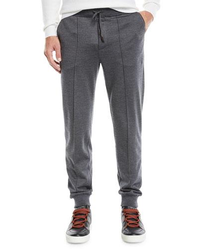 Men's Knit Wool Pants