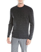 Ermenegildo Zegna Men's Ombre Check Cashmere Sweater