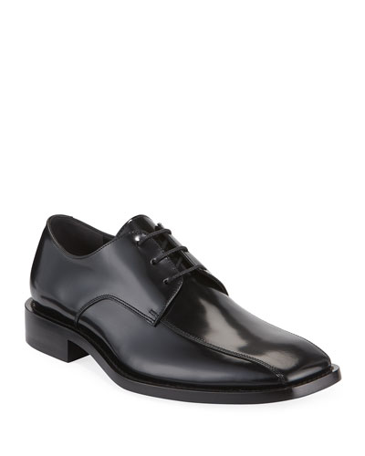 Men's Lace-Up Leather Derby Shoe