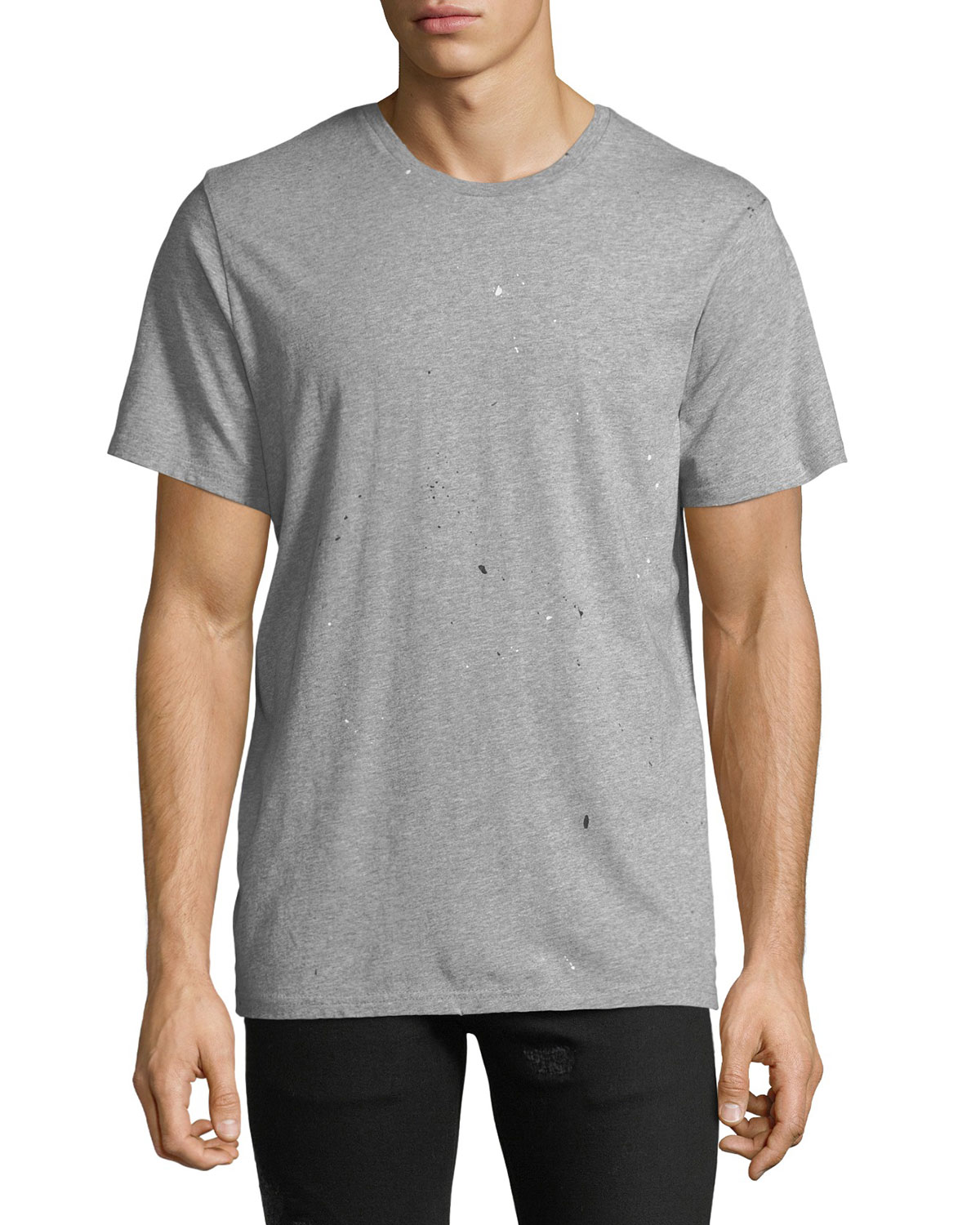 Men's Splattered Crewneck T-Shirt