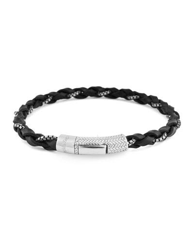 afabb050da Black Leather Jewelry | Neiman Marcus