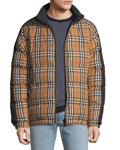 Men's Drayton Reversible Puffer Coat