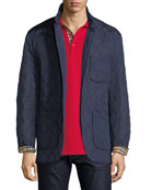 Burberry Clifton Quilted Pocket Coat