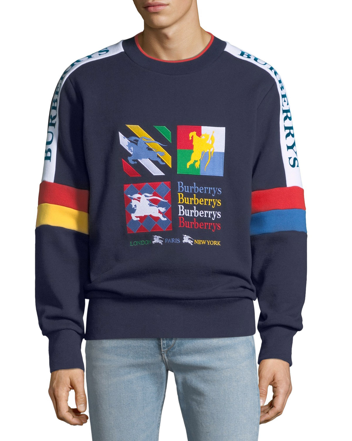 Men's Harms Vintage-Graphic Sweatshirt