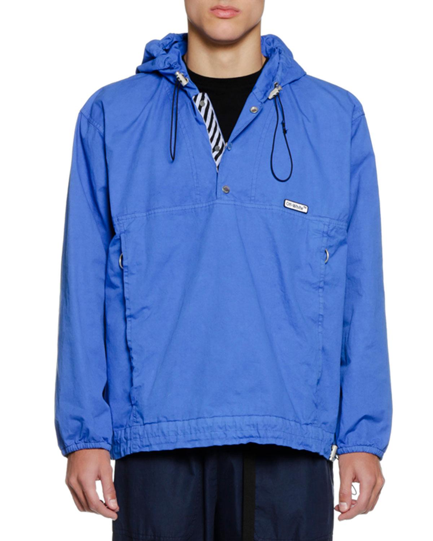 Men's Pullover Anorak Jacket