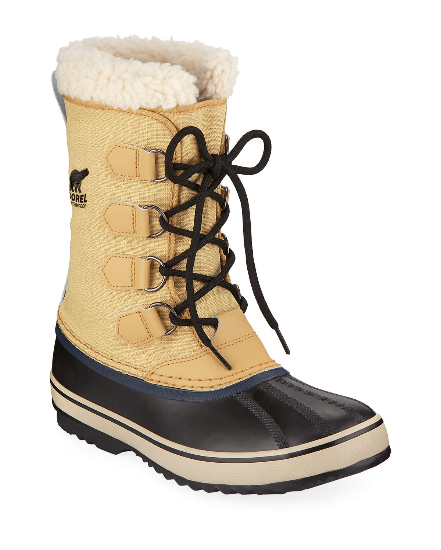 Men'S 1964 Sherpa-Lined All-Weather Waterproof Duck Boots, Beige