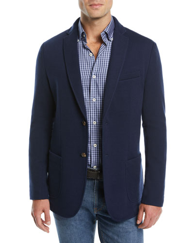 Men's Crown Comfort Two-Button Blazer