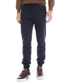 Ermenegildo Zegna Men's Drawstring Flannel Pants