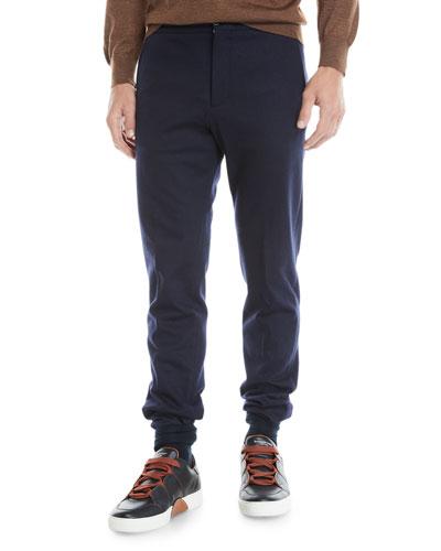 Men's Drawstring Flannel Pants