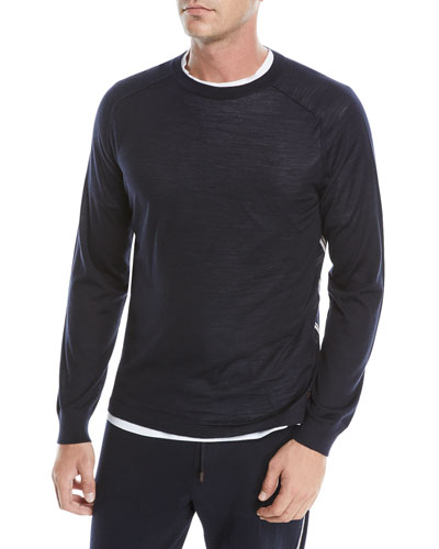 Men's Wool Crewneck Sweatshirt