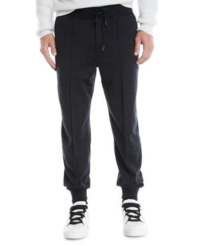 Men's Front-Seam Jogger Pants