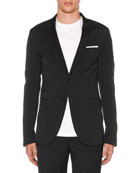 Neil Barrett Men's Super Skinny Long Travel Jacket