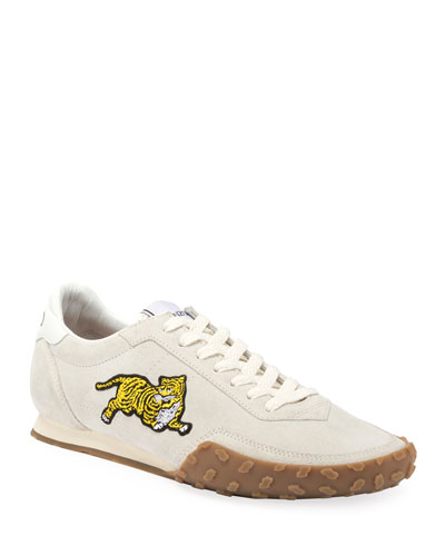Men's Move Tiger Suede Sneakers