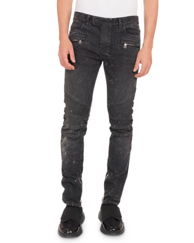 b22dbd10 Quick Look. Balmain · Men's Droit Classic Biker Jeans. Available in Black