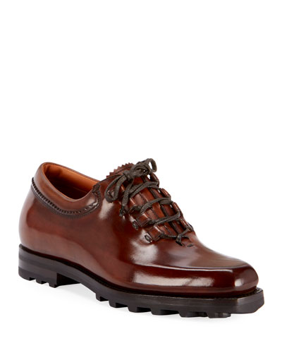 Men's Venezia Mogano Lace-Up Shoes