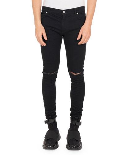 Men's Ultra Skinny Destroyed Jeans