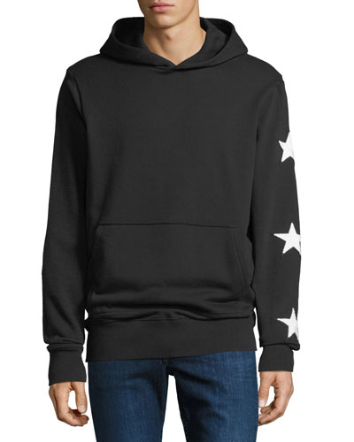 Men's Star  Hoodie Sweatshirt