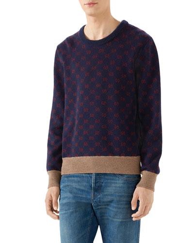 b1eb597cc564d Gucci Pullover Sweater | Neiman Marcus